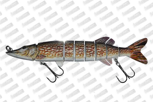 BONKERS LURE Devil Pike #Natural