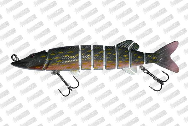 BONKERS LURE Devil Pike #North