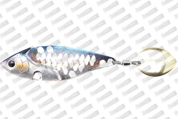 LUCKY CRAFT iLV 50 Spin 10g #MS American Shad