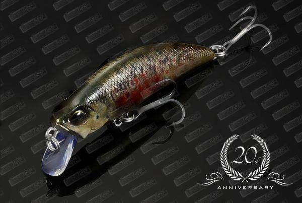DUO Spearhead Ryuki 60S #CCC3815 Brown Trout ND