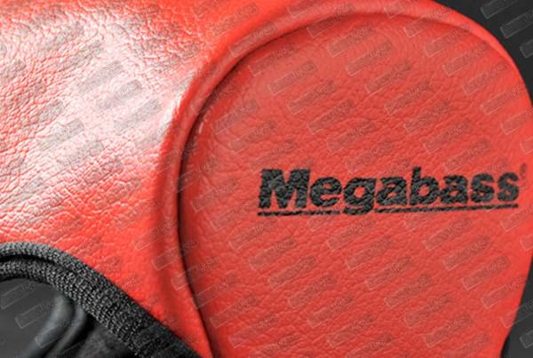 MEGABASS Reel Protector Red