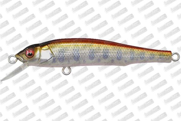 MEGABASS Great Hunting 70 Flat Side #M Red Sream