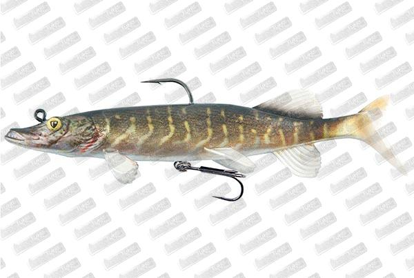FOX RAGE Realistic Pike 25cm #Natural