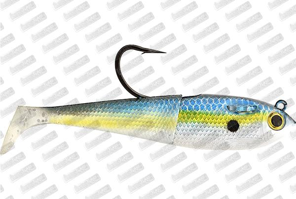 SPOOLTEK Fatty 4'' #Threadfin Shad