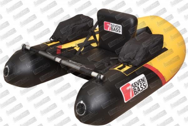 SEVEN BASS Brigade Racing 160 Jaune/Noir
