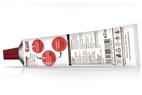 SEVEN BASS Extasy liquid Réparation PVC Transparent