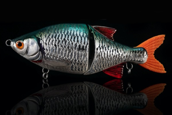 LUCKY LURES Lucky Roach #Silver Leaf Green